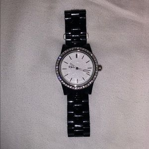 Women's Black DKNY watch